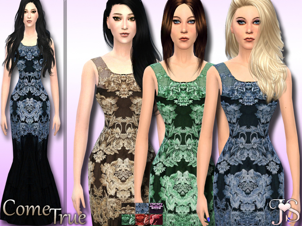 Come True- Formal Dress by JavaSims