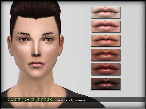 LipsSet7 extra: male version by ShojoAngel