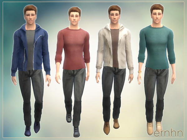 Simple Male Set by ernhn