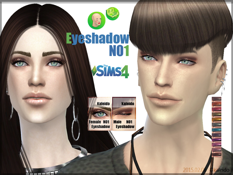 Eyeshadow N1 at KK Sims