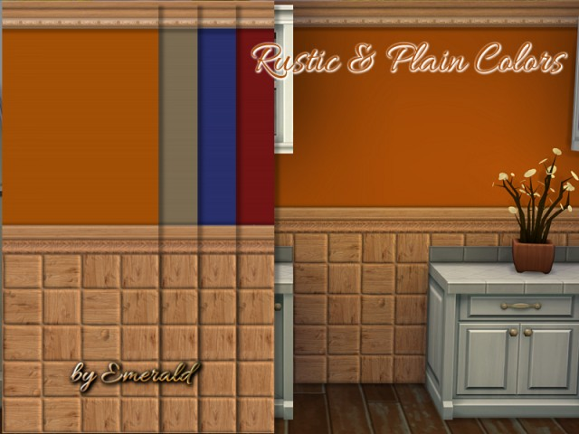 Rustic & Plain colors by emerald