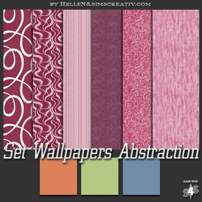 Set Wallpapers «Abstraction» by Hellen