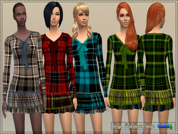 Dress Tartan by bukovka