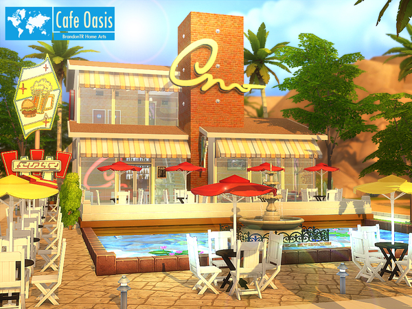 Cafe Oasis by BrandonTR