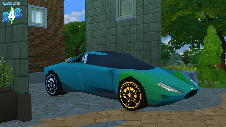 Decorative supercar 2 new finishes at Sophia Virtual Estate