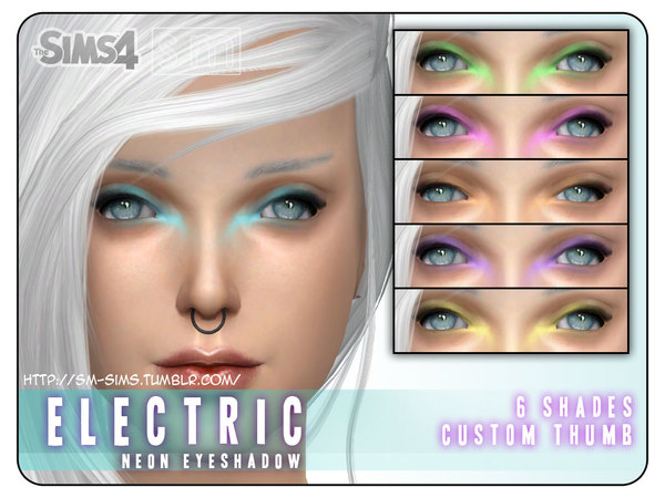 [ Electric ] - Neon Eyeshadow by Screaming Mustard