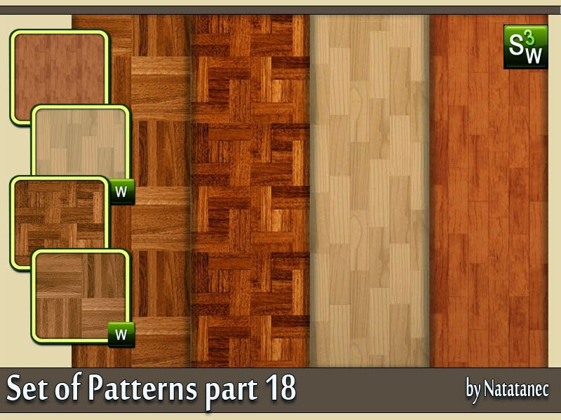 Set of Patterns part 18 by natatanec