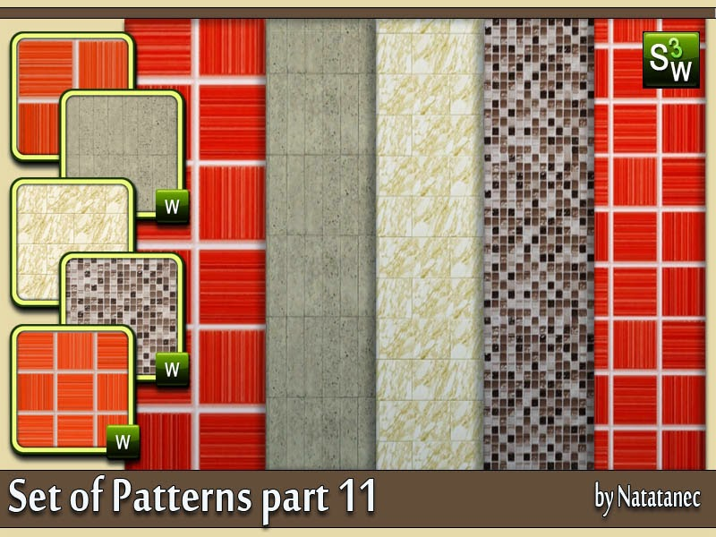 Set of Patterns part 11 by natatanec