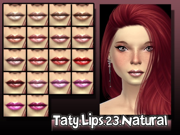 [Ts4]Taty_Lips_23_Natural by tatygagg