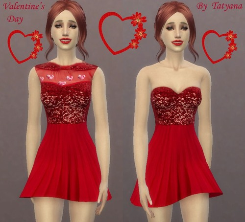 Dress for Valentines Day at Tatyana Name
