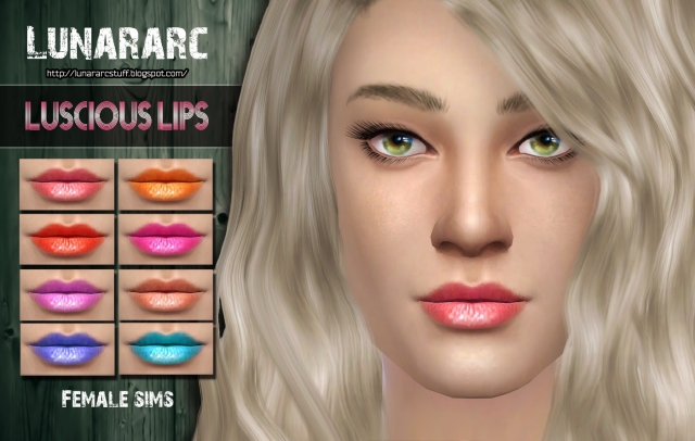 Luscious Lips by Lunararc