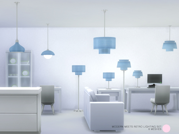 Modern Meets Retro Lighting Set by DOT