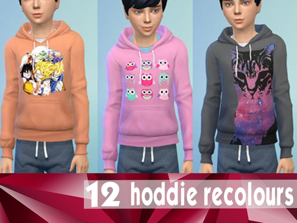 Child Hoddies by bobojellycatface
