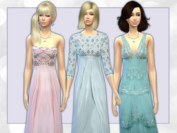 jewelled Formal gowns by shanelle.sims