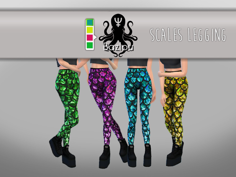 Scales Legging  BY Bazlou