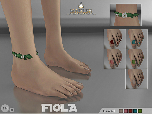Madlen Fiola Feet by MJ95