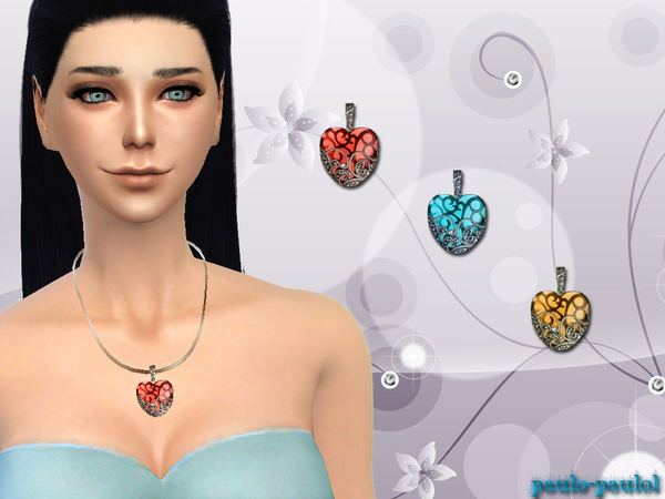 loving heart necklace by paulo-paulol