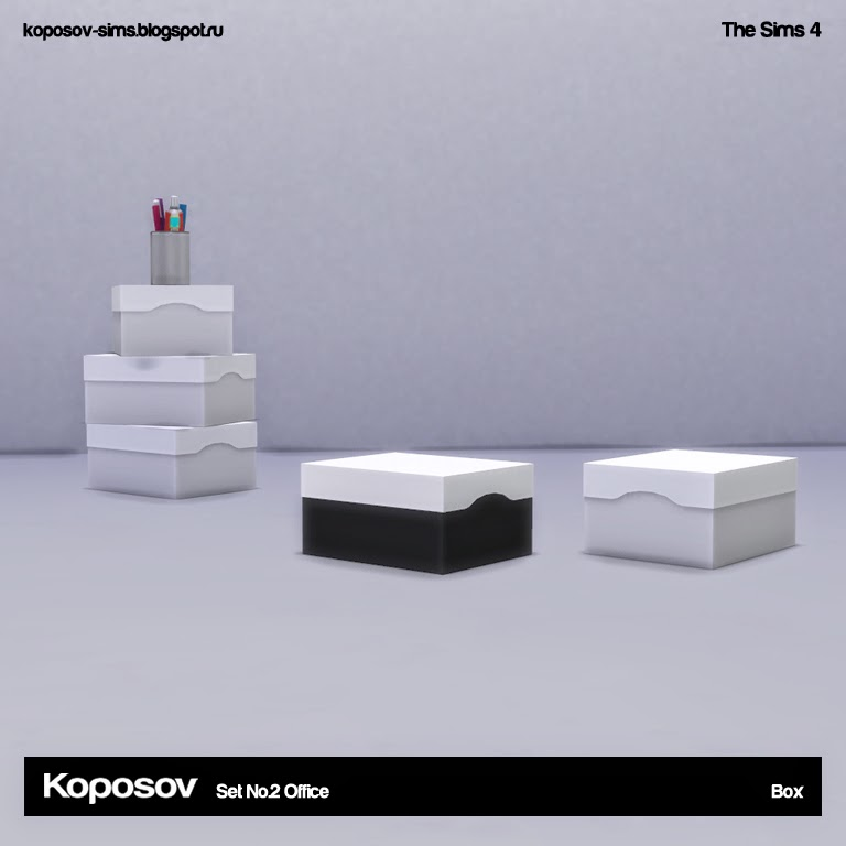 Office Set 2 by Koposov