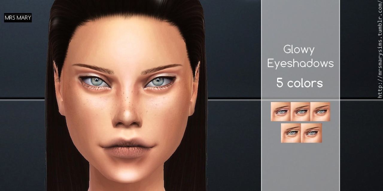 Glowy Eye Shadow by MrsMarySims