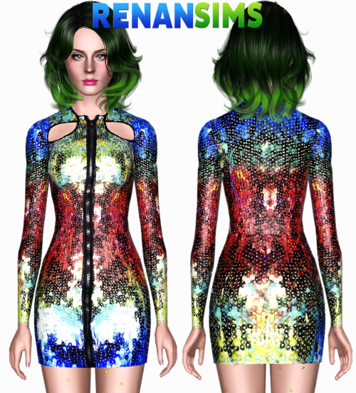 Katy Perry Cosmopolitan dress by RenanSims
