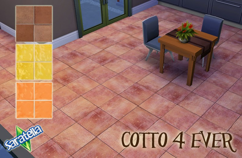 Tile Floors by Saratella