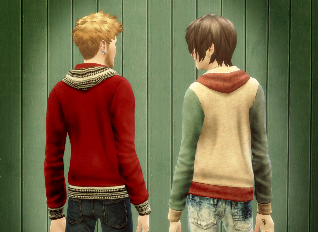 Sweatshirts for Males by Opabo99