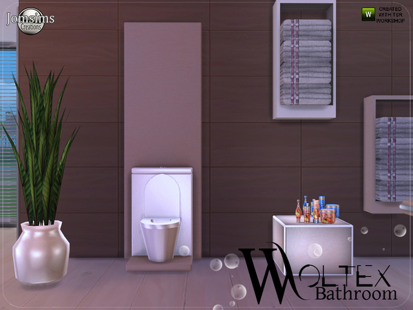 Woltex bathroom by jomsims