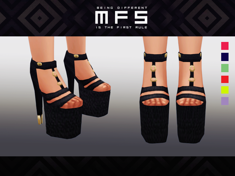 Platform Shoes by Missfortunesims