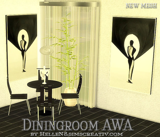 Awa Dining Set by Hellen