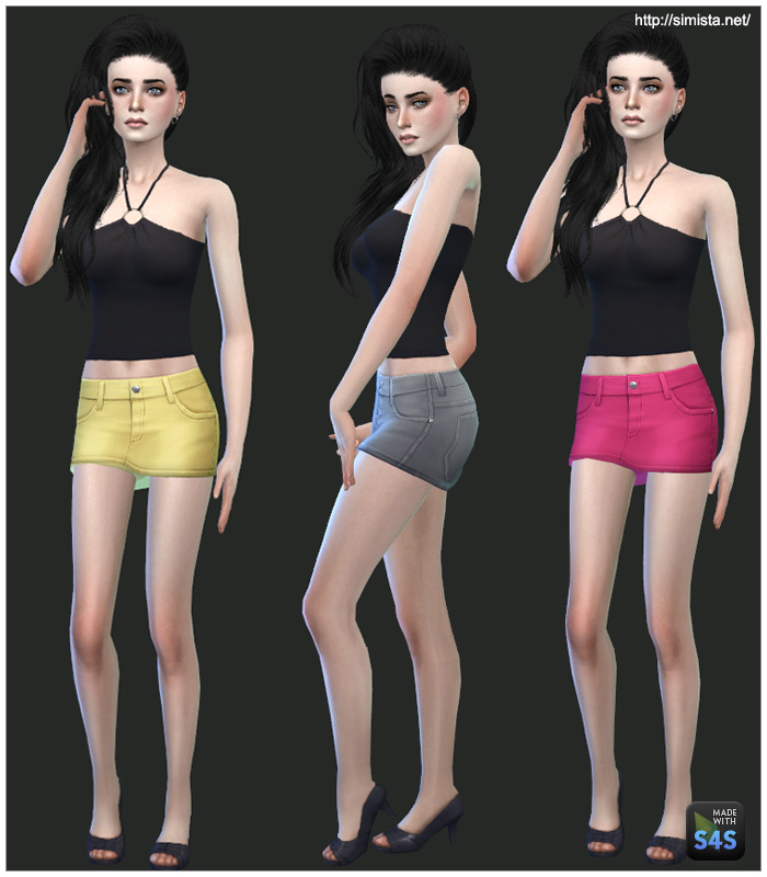 Denim Miniskirts for Teen - Elder Females by Mr S