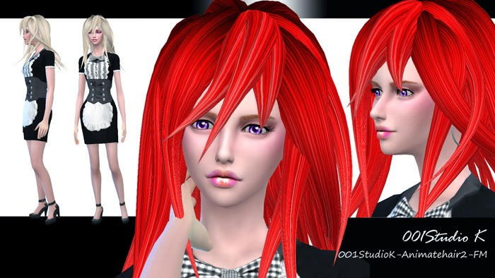 Studio K Creation Animate Hair 2 for Males & Females