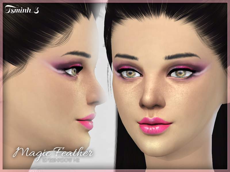 Magic Feather Eyeshadow  BY tsminh_3