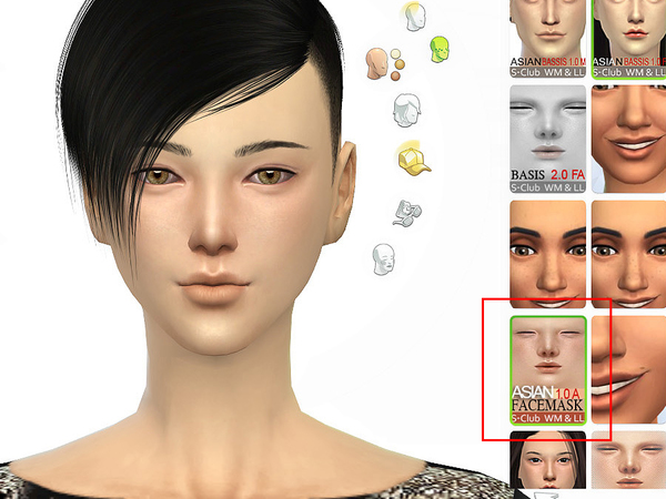 S-Club WMLL ts4 ASIAN Facemask1.0