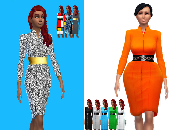 Chic Dress Collection by untraditionalNerd