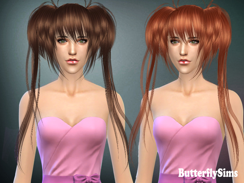 Hairstyle022 by Butterfly Sims