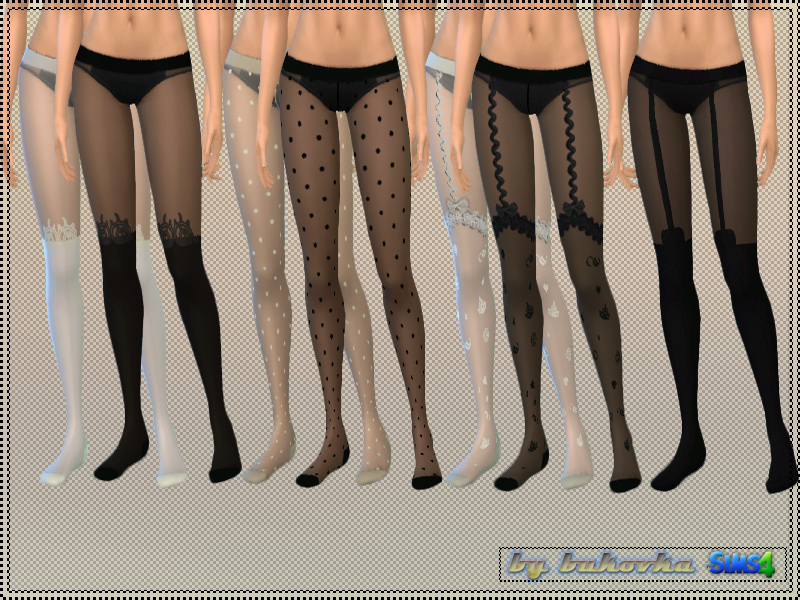 Tights Mix  BY bukovka