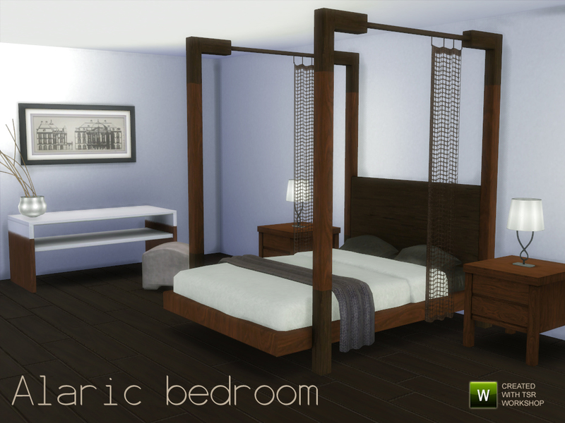 Alaric bedroom BY spacesims