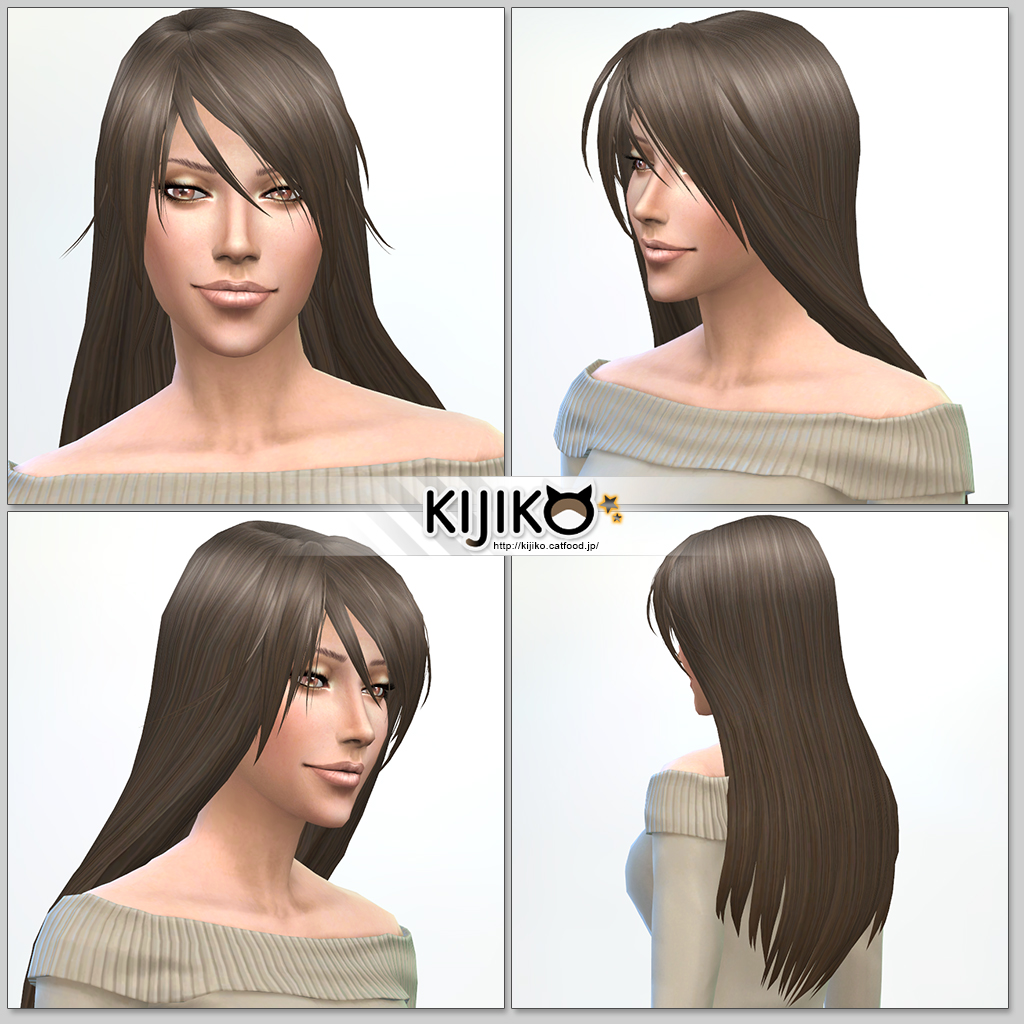Long Straight hair for females at Kijiko