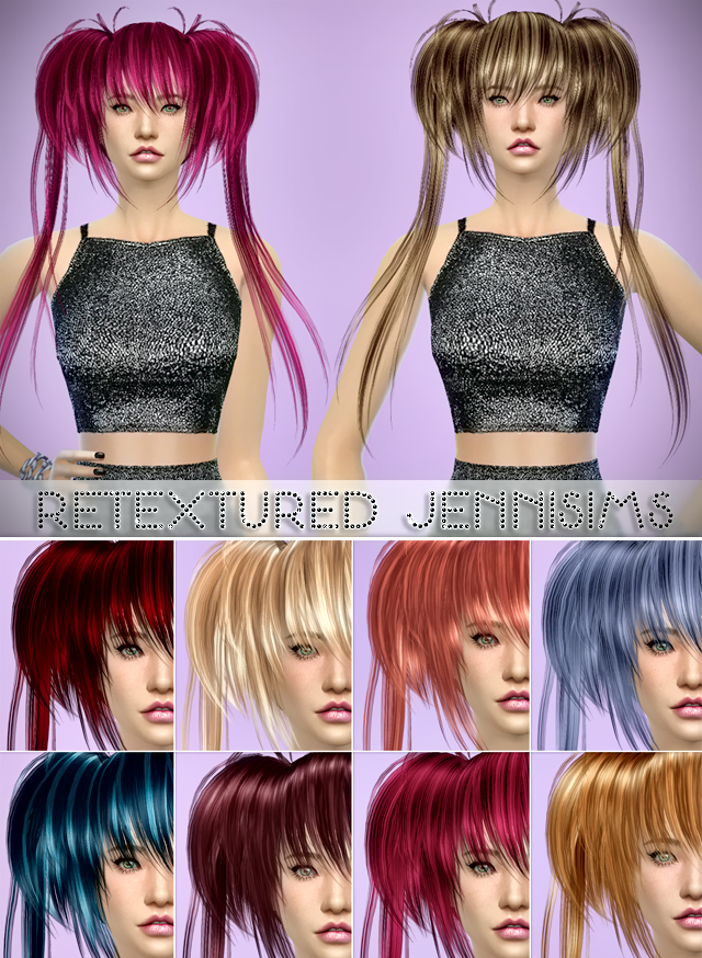 Butterflysims 022 Hair retextured at Jenni Sims