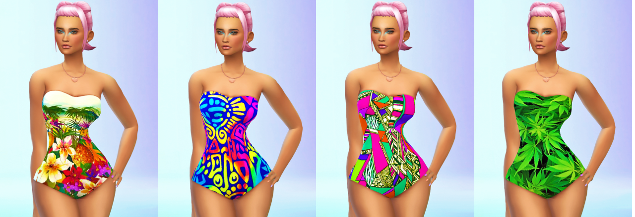 Swimwear for Females by MonolithSims