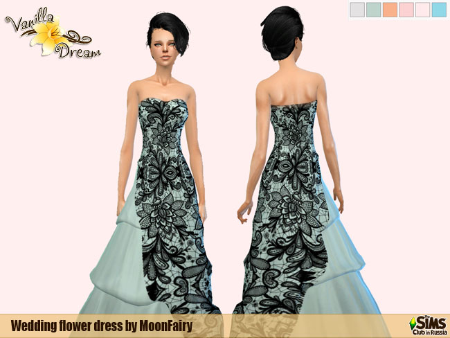 "Weddind dresses ""Lovely Flowers"" by MoonFairy"