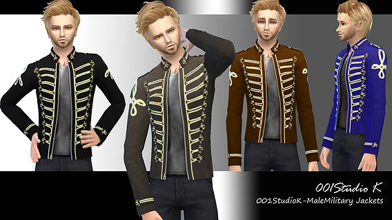 Male Military-Jackets by Studio K Creation