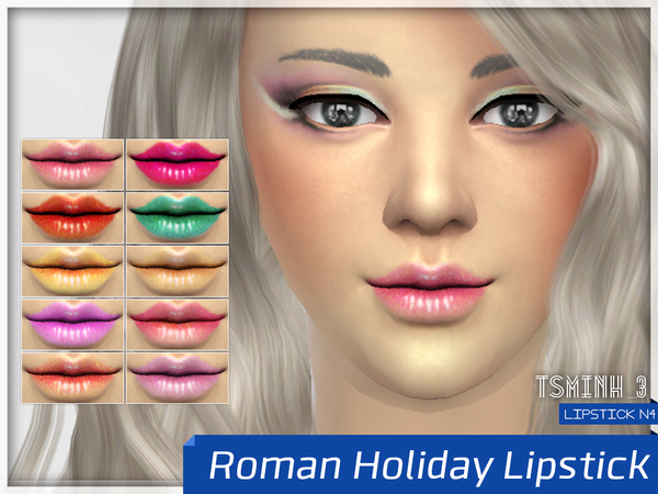 Roman Holiday Lipstick by tsminh_3