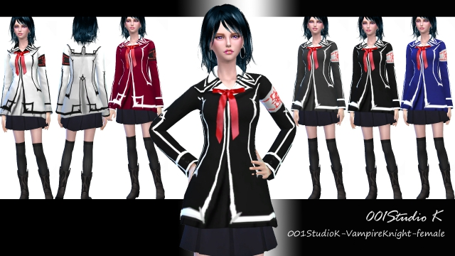 Vampire Knight - Female Jacket by Studio K Creation