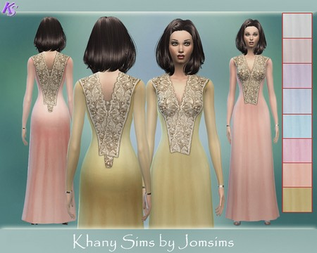 SOLIANA cocktail dress 3 by Jomsims
