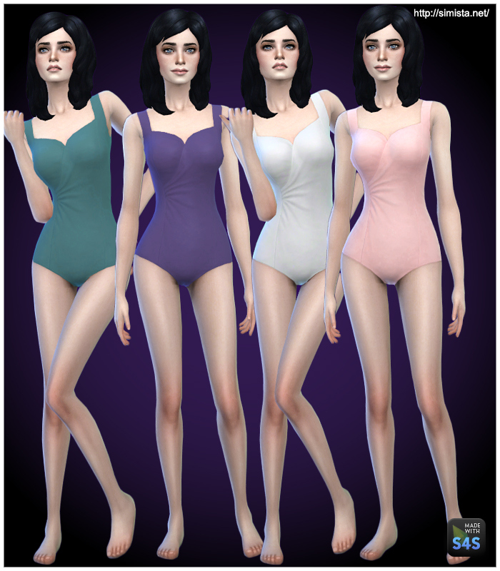 One Piece Swimsuits for Teen - Elder Females by Simista