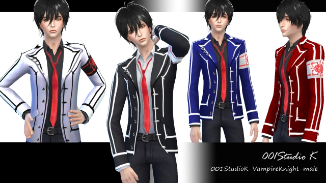 Vampire Knight - Male Jacket by Studio K Creation