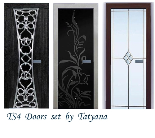 TS 4 Doors set at Tatyana Name