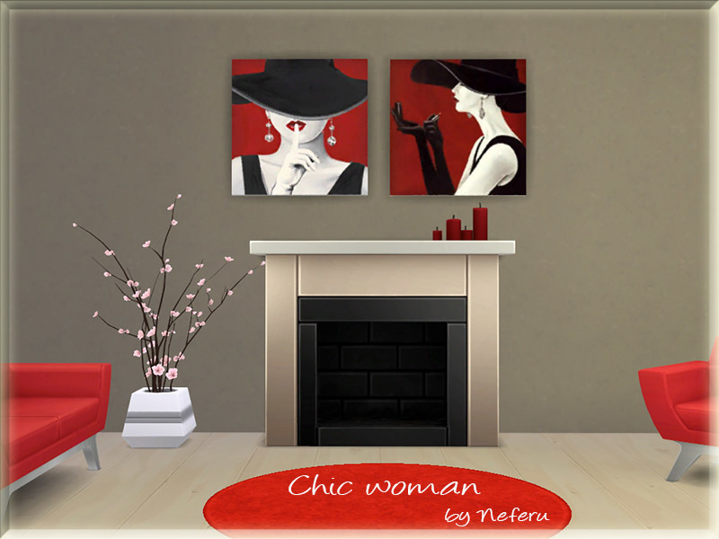 Chic woman  BY Neferu
