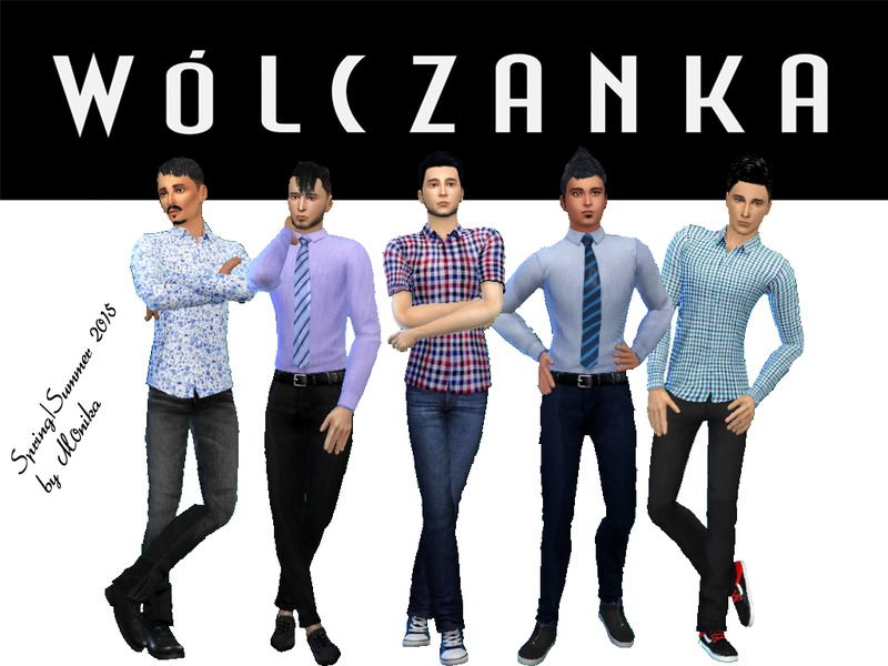 Wlczanka Shirts Pack BY M0NIK4
